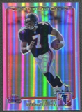 2001 Topps Chrome #262 Michael Vick Rookie Refractor #709/999