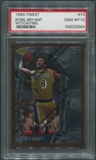 1996/97 Finest #74 Kobe Bryant With Coating Rookie PSA 10 (GEM MT)