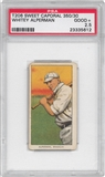 1909-11 T206 Sweet Caporal Whitey Alperman PSA 2.5 (GOOD) *5612