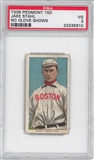 1909-11 T206 Piedmont Jake Stahl (No Glove Shows) PSA 3 (VG) *5610