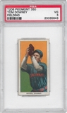 1909-11 T206 Piedmont Tom Downey (Fielding) PSA 3 (VG) *5643