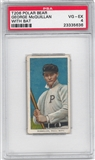 1909-11 T206 Polar Bear George McQuillan (With Bat) PSA 4 (VG-EX) *5636