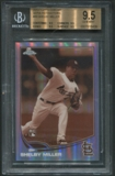 2013 Topps Chrome #80 Shelby Miller Sepia Refractor Rookie #50/75 BGS 9.5 (GEM MINT) *6439