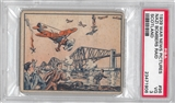 1939 Gum Inc. War News Pictures #96 Nazi Bombers Raid Scotland PSA 3 (VG) *1906