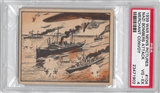 1939 Gum Inc. War News Pictures #104 Nazi Bombers Attack PSA 4 (VG-EX) *1902