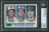 1982 Topps Baseball #21 Cal Ripken Jr. Rookie BGS 7.5 (NM+) *5473