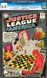 Justice League of America #1 CGC 6.0 (OW) * 1033304002*