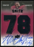 2013 Upper Deck Quantum Signature Numbers #SNSM Bruce Smith Autograph /78