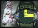 2013 Upper Deck Quantum Signature Patches #131 Kenjon Barner Autograph /265