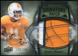 2013 Upper Deck Quantum Signature Patches #149 Justin Hunter Autograph /265
