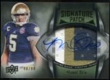 2013 Upper Deck Quantum Signature Patches #157 Manti Te'o Autograph /99