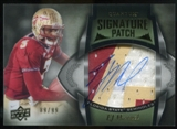 2013 Upper Deck Quantum Signature Patches #160 EJ Manuel Autograph /99