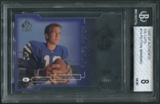 1998 SP Authentic #14 Peyton Manning Rookie Die Cuts #023/500 BGS 8 (NM-MT) *2307