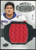2013 Upper Deck Quantum Jersey Collection #LCTB Tedy Bruschi /75