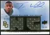 2013 Upper Deck Quantum New Generation Autograph Jerseys #NGJWT Terrance Williams Autograph /85