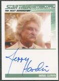 2013 Star Trek The Next Generation Heroes and Villains #18 Jerry Hardin as Samuel Clemens Auto