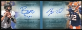 2013 Upper Deck Quantum Moments in Time Dual Autographs #MTRNS Ryan Nassib/Brad Sorensen Autograph /75
