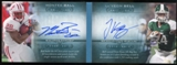 2013 Upper Deck Quantum Moments in Time Dual Autographs #MTRBB Le'Veon Bell Montee Ball Autograph /75