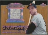 2005 Upper Deck Hall of Fame #OC1 Orlando Cepeda Essential Enshrinement Rainbow Jersey Auto #1/1