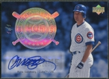 2005 Upper Deck Hall of Fame #SA3 Ryne Sandberg Cooperstown Calling Rainbow Portrait Auto #1/1