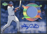 2005 Upper Deck Hall of Fame #GC3 Gary Carter Cooperstown Calling Rainbow Jersey Auto #1/1