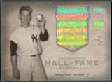 2005 Upper Deck Hall of Fame #WF2 Whitey Ford Seasons Rainbow Portrait #1/1