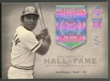 2005 Upper Deck Hall of Fame #MO2 Joe Morgan Seasons Rainbow #1/1