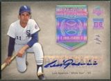 2005 Upper Deck Hall of Fame #LA1 Luis Aparicio Seasons Rainbow Auto #1/1