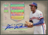 2005 Upper Deck Hall of Fame #FJ2 Fergie Jenkins Seasons Rainbow Auto #1/1