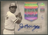 2005 Upper Deck Hall of Fame #MO2 Joe Morgan Seasons Rainbow Auto #1/1