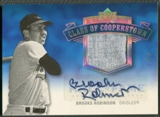 2005 Upper Deck Hall of Fame #BR1 Brooks Robinson Class of Cooperstown Rainbow Jersey Auto #1/1
