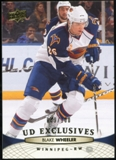 2011/12 Upper Deck Exclusives #5 Blake Wheeler /100