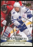 2011/12 Upper Deck Exclusives #19 Phil Kessel /100