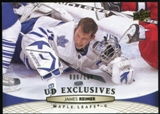 2011/12 Upper Deck Exclusives #21 James Reimer /100