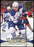 2011/12 Upper Deck Exclusives #25 Luke Schenn /100