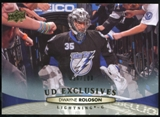 2011/12 Upper Deck Exclusives #29 Dwayne Roloson /100