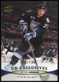2011/12 Upper Deck Exclusives #30 Victor Hedman /100