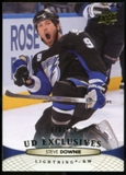 2011/12 Upper Deck Exclusives #31 Steve Downie /100