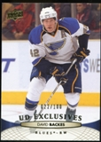 2011/12 Upper Deck Exclusives #33 David Backes /100