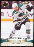 2011/12 Upper Deck Exclusives #43 Dan Boyle /100