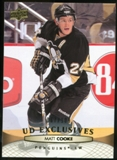 2011/12 Upper Deck Exclusives #51 Matt Cooke /100