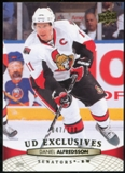2011/12 Upper Deck Exclusives #67 Daniel Alfredsson /100