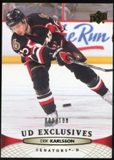 2011/12 Upper Deck Exclusives #68 Erik Karlsson /100
