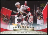 2011/12 Upper Deck Exclusives #72 Peter Regin /100