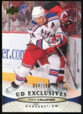 2011/12 Upper Deck Exclusives #76 Ryan Callahan /100