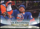 2011/12 Upper Deck Exclusives #84 Kyle Okposo /100