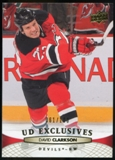 2011/12 Upper Deck Exclusives #92 David Clarkson /100