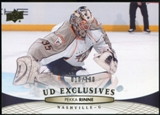 2011/12 Upper Deck Exclusives #96 Pekka Rinne /100