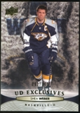 2011/12 Upper Deck Exclusives #97 Shea Weber /100