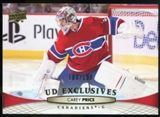 2011/12 Upper Deck Exclusives #99 Carey Price /100